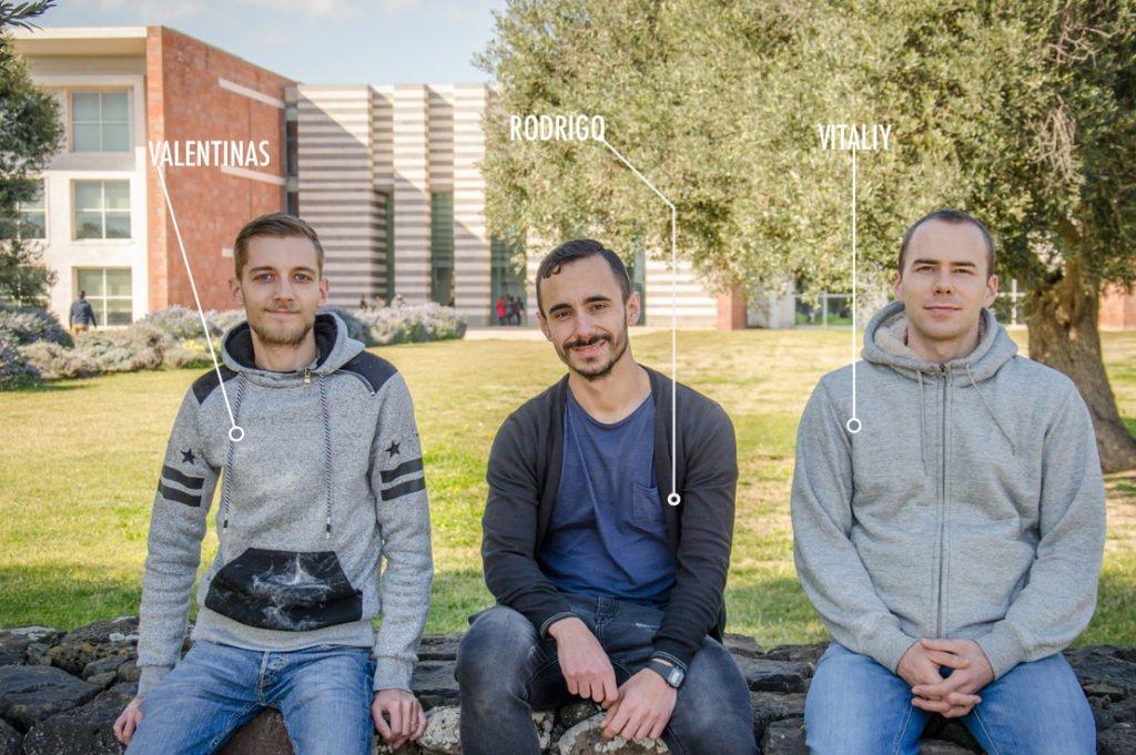 Dal mondo a Open Campus: la storia di Vitaliy, Valentinas e Rodrigo